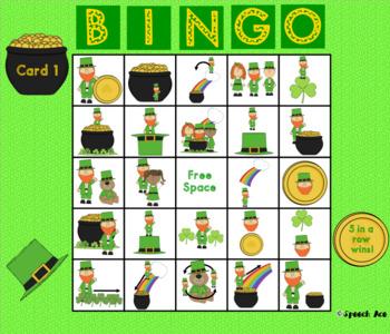 Where's the Leprechaun: a St. Patrick's Day Preposition Bingo Game