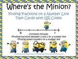 Where's the Minion?  Finding Fractions on a Number Line Ta