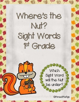Where's the Nut? 1st Grade Sight Words