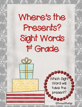 Where's the Present? 1st Grade Sight Words