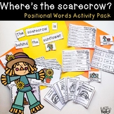 Where's the Scarecrow Positional Words Activity Pack