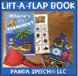 Where's the Treasure?   Lift a Flap Book (Interactive book)
