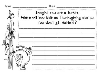 Where should turkey hide for Thanksgiving?