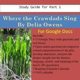 Where the Crawdads Sing Study Guide Part 1 Distance Learni