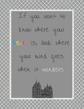 Where the Heart Is- LDS quote