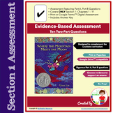 Where the Mountain Meets the Moon Section 1 Assessment w/PARCC-Style Questions