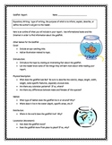 """Where the Mountain Meets the Moon"", Goldfish Info Report Sheets"