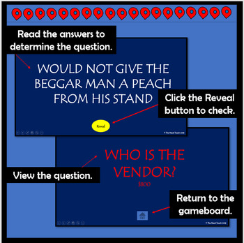 Where the Mountain Meets the Moon Jeopardy PowerPoint