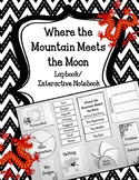 Where the Mountain Meets the Moon Lapbook.  Interactive Notebook Writing Prompt