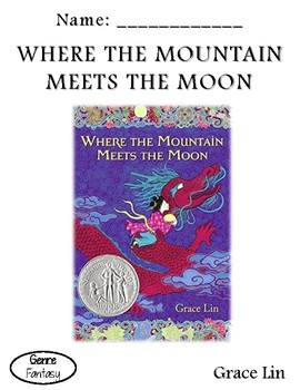 Where the Mountain Meets the Moon - Pacing Guide and Vocabulary