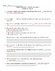 Where the Mountain Meets the Moon Quiz Packet Answer Keys