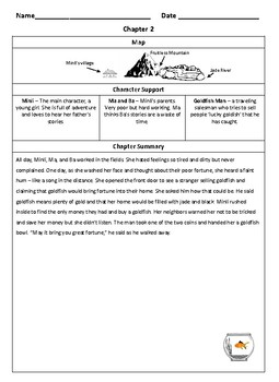 Where the Mountain Meets the Moon: Summaries + Resource Pages