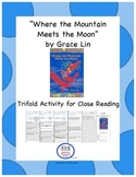 """""""Where the Mountain Meets the Moon"""" Trifold Activity-Readi"""