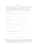 Where the Mountain Meets the Moon comprehension packet for