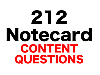 Where the Red Fern Grows 212 Content Questions Whiteboard Game