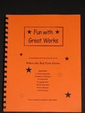 Where the Red Fern Grows: 31 PAGES OF WORD PUZZLES--Fun!