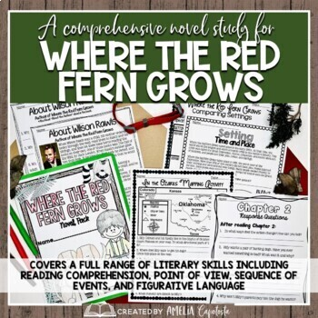 Where the Red Fern Grows {Novel Study}