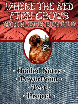 Where the Red Fern Grows Basic Bundle