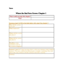 Where the Red Fern Grows: Chapter 1 Study Guide Worksheet (3 pgs)