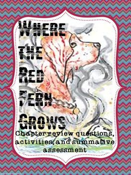 Where the Red Fern Grows - Chapter Review Questions and Assessment