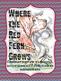 Where the Red Fern Grows - Chapter Review Questions and As