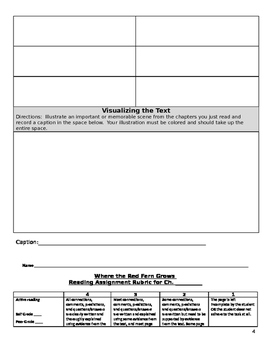 Where the Red Fern Grows Comprehensive Novel Study Packet
