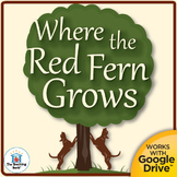 Where the Red Fern Grows Novel Study CD