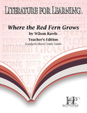 Where the Red Fern Grows Standards-Based Study Guide Teacher's Edition