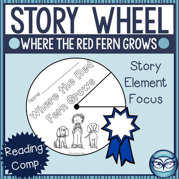 Where the Red Fern Grows Story Elements Wheel