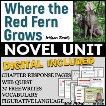 an analysis of the characters of where the red fern grows Where the red fern grows study guide contains a biography of wilson rawls, quiz questions, major themes, characters, and a full summary and analysis.