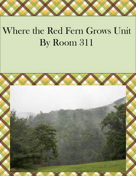 Where the Red Fern Grows Unit