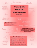 Where the Red Fern Grows Trivia Game—Fun for the Whole Class!