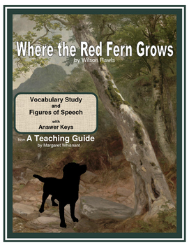 Where the Red Fern Grows Vocabulary Study with Figures of Speech