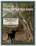 Where the Red Fern Grows Whole Book Tests
