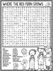 Where the Red Fern Grows Word Search Activity