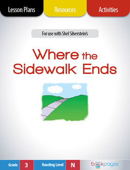 Where the Sidewalk Ends Lesson Plans & Activities Package, Third Grade (CCSS)