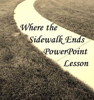 Where the Sidewalk Ends PowerPoint Lesson