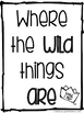 Where the WILD things ARE [Book Study]