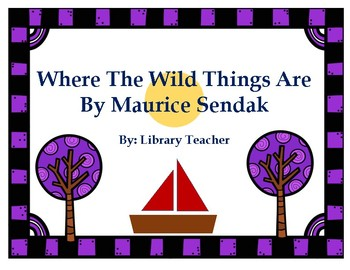 Where the Wild Things Are: Activity Packet