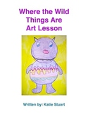 Where the Wild Things Are Art Lesson
