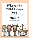 Where the Wild Things Are BOOK UNIT