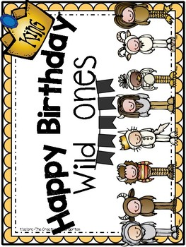 Where the Wild Things Are {Birthday Pack-Crowns}