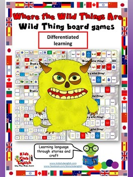 Where the Wild Things Are - Body Parts Board Games