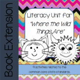 Where the Wild Things Are Book Unit - DIGITAL DISTANCE LEARNING