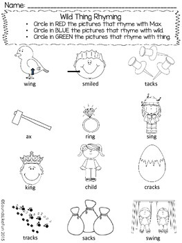 Language and Literacy Lesson: Where the Wild Things Are