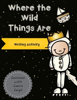 """FREE """"Where the Wild Things Are"""" Writing Activity"""