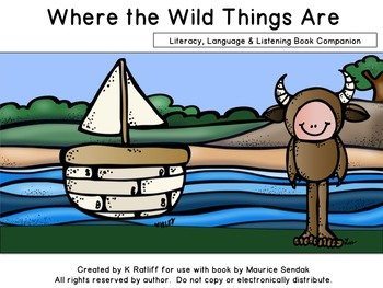 Where the Wild Things Are :  Literacy, Language & Listening Book Unit