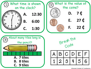 Escape Box: Where the Wild Things Are Lock Box Game 1st Grade Math (TEKS Based)