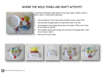 Where the Wild Things Are Mask Activity