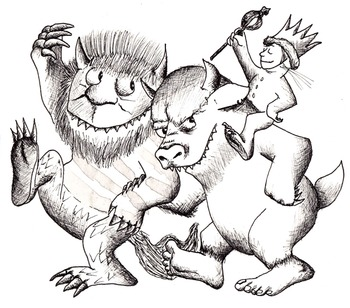 Where the Wild Things Are Mini Book